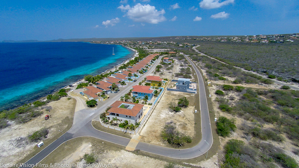 Aerial Bonaire real estate